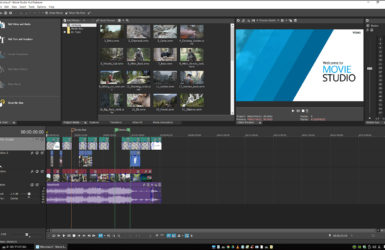 VEGAS Movie Studio 15の体験版の使い方